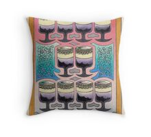 Ten of Cups Throw Pillow
