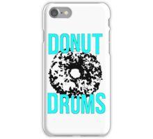 DonutDrums Donut Aqua Teal iPhone Case/Skin