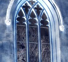 St, Nicholas Church window by Livvy Young
