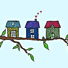 Tree houses by Casey Virata