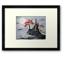 My Tower and I Framed Print
