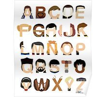 Star Trek Alphabet Poster