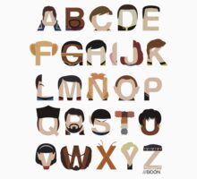 Star Trek Alphabet Kids Tee