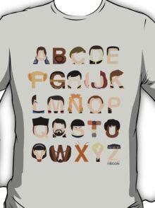 Star Trek Alphabet T-Shirt