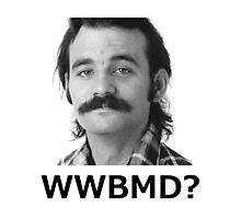 WWBMD - Black Writing Photographic Print