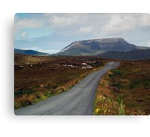 Muckish Mountain 2 Canvas Print