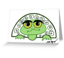 Shelton the Turtle Greeting Card