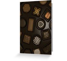 Chocoholic Chocolate Lover Note Card Greeting Card