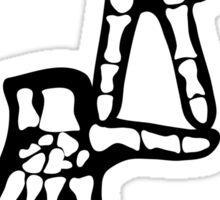 DG Hands Skeleton Sticker