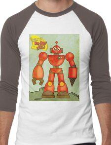 Ro-Boy from space Men's Baseball ¾ T-Shirt