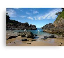 Pelican paradise ~ Seal Rocks, NSW Canvas Print