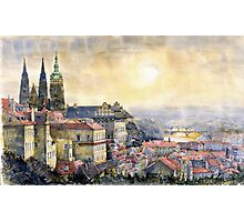 Dawn of Prague  Photographic Print
