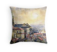Dawn of Prague  Throw Pillow