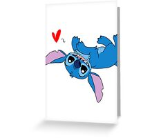 Stitch Loves All Greeting Card