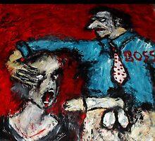 -Branded.._Acryl auf Tuch,160 x 160 cm,Jahr 2011 by Despinaart