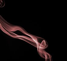 Smoky ribbon in red by SMCK