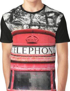 Telephone Box Graphic T-Shirt