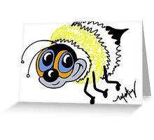 Bennie the Bumble Bee Greeting Card