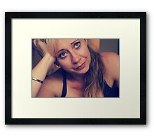 That Kind of Love Was the Killing Kind Framed Print