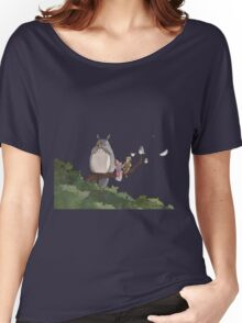Totoro Forest Theme Women's Relaxed Fit T-Shirt