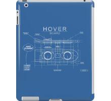 Hover Board Blueprint iPad Case/Skin