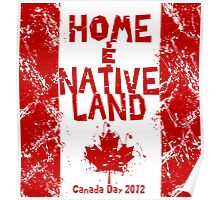 Home and Native Land Poster