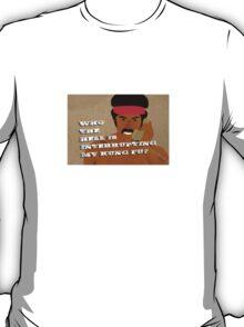Black Dynamite's Kung-Fu T-Shirt