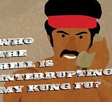 Black Dynamite's Kung-Fu by SixPixeldesign