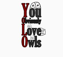 YOLO - You Obviously Love Owls Unisex T-Shirt