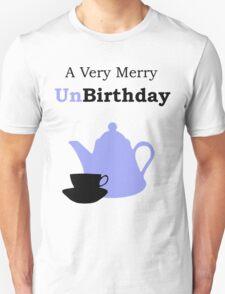A Very Merry Unbirthday Unisex T-Shirt