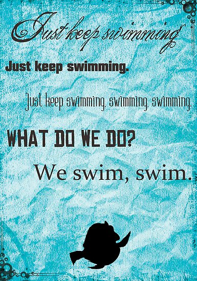 Keep Swimming by Konoko479