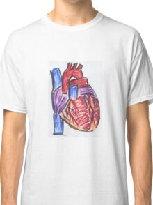 Impressionist Heart Classic T-Shirt