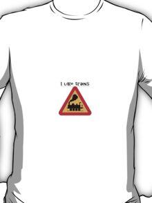 I like trains T-Shirt