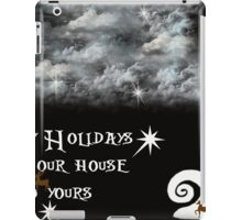 The Nightmare Before Christmas tribute iPad Case/Skin