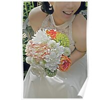 Her Bouquet Poster