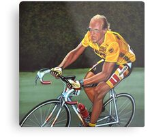 Laurent Fignon Painting Metal Print