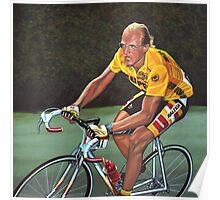 Laurent Fignon Painting Poster