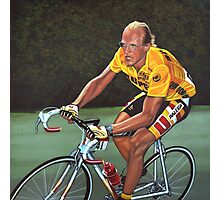 Laurent Fignon Painting Photographic Print
