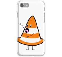 Shocked Traffic Cone iPhone Case/Skin
