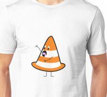 Shocked Traffic Cone Unisex T-Shirt