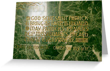 God sent Saint Patrick... by WalnutHill