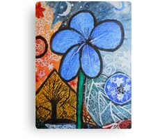 The Shining flower Canvas Print