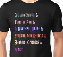 Mane 6 colorful Phrases! Unisex T-Shirt