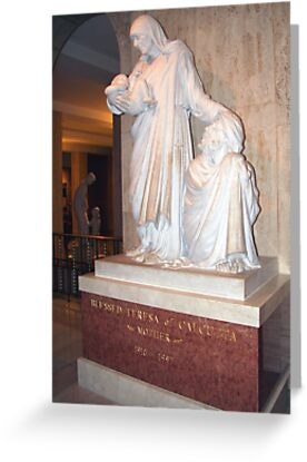 Blessed Mother Teresa by WalnutHill