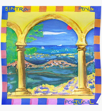 Sintra arch Poster