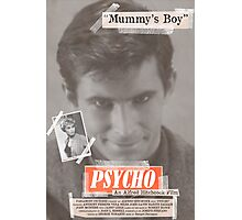 Psycho Tabloid Photographic Print