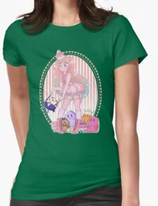 Princess Bubblegum and her Candy Children  Womens Fitted T-Shirt