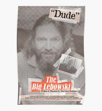 The Big Lebowski Tabloid Poster