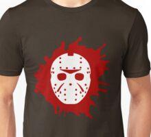 Bloody Jason Mask Unisex T-Shirt