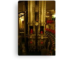 Artillery room Canvas Print